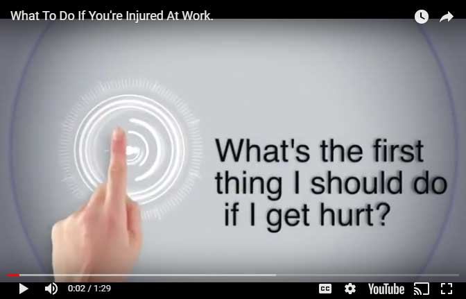 Work Injury Videos